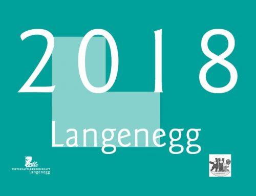 Der beliebte Langenegg-Kalender für 2018 ist da!