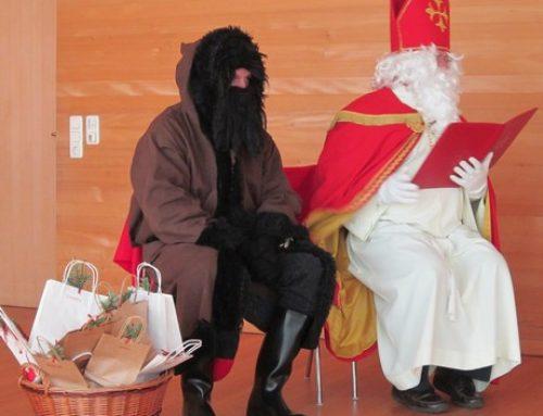 Der Nikolaus ist unterwegs in Langenegg