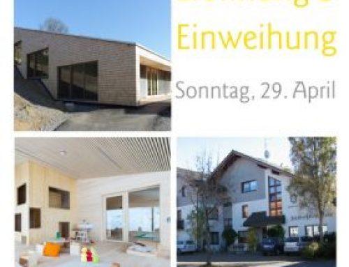 Eröffnungsfeier Zwergengarten & JGF-Haus