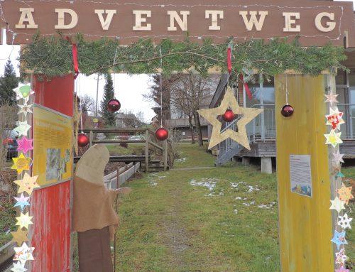Der Adventweg erwartet euren Besuch…