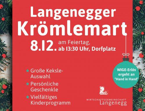 Langenegger Krömlemart am 08. Dezember
