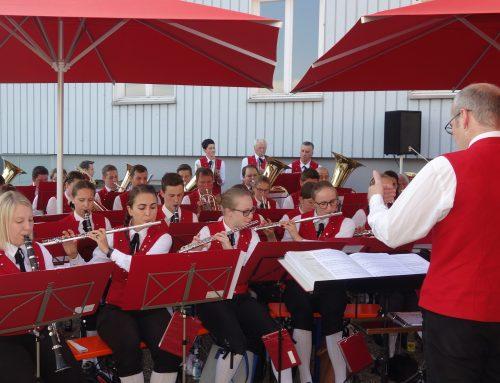 Dämmerschoppen mit dem Musikverein Langenegg