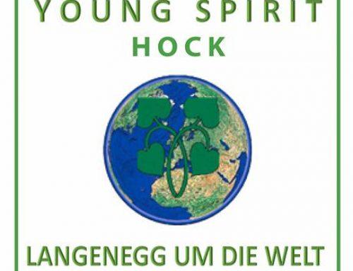 Einladung zum 3. Young spirit hock im Cafe Stopp