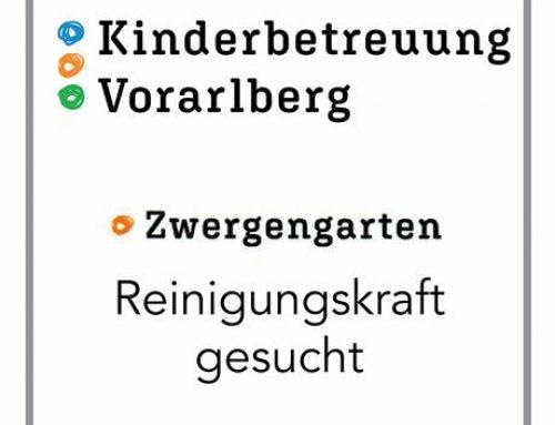 Zwergengarten Langenegg sucht Reinigungskraft