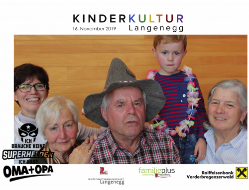 1. Langenegger Großelternfest – voller Erfolg
