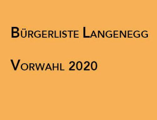 Gemeindewahlen 2020 – Teilnahme an der Vorwahl