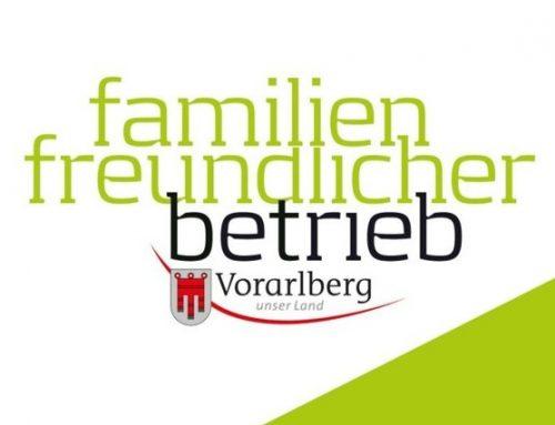 Zertifikat familienfreund-licher Betrieb