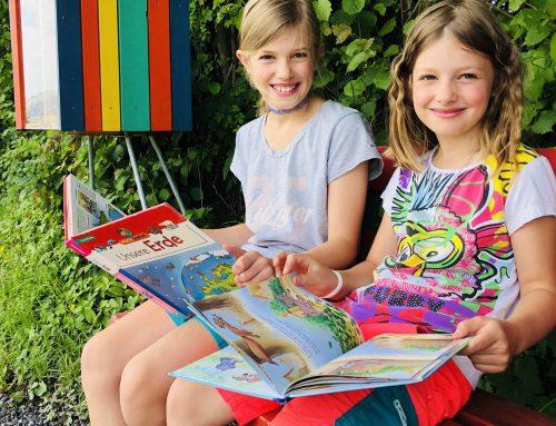 Wortorte – offene Bücherschränke für Kinder
