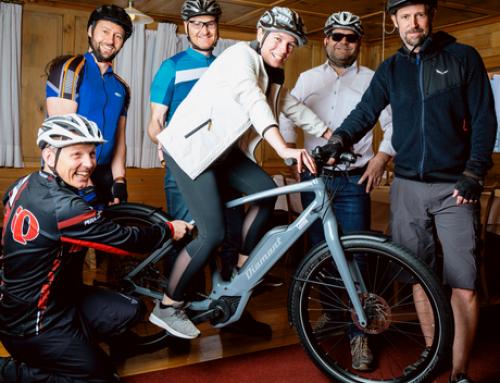 Fahrradwettbewerb Radius & Match the Bürgermasta