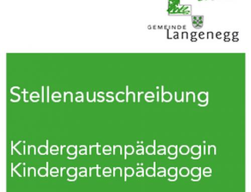 Kindergarten- pädagogin / Pädagoge gesucht