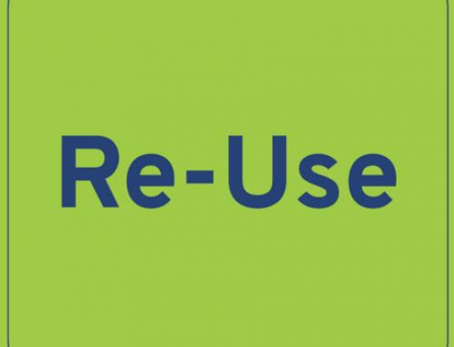 Re-Use: Weiterverwenden statt verschwenden