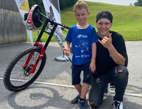Bike & Talk mit Elias Schwärzler in Langenegg