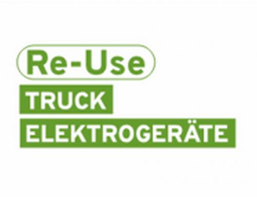 Der Re-Use-Truck kommt nach Langenegg